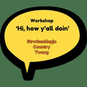 workshop online zingen country